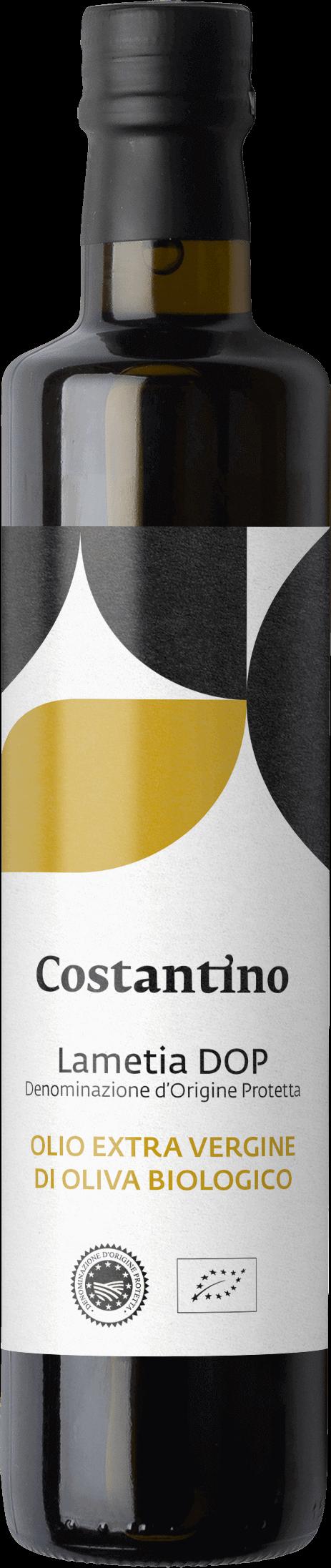Costantino - Olio Extra Vergine d'Oliva Biologico Dop Lametia - bottiglia 50cl